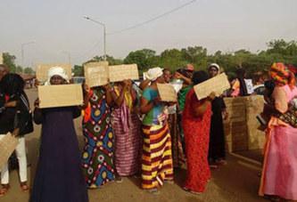 Maison d'arrêt et de correction de Ouagadougou : Manifestation des proches des détenus