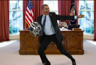 Quand Obama chante » Work » de Rihanna
