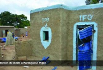 CONFLIT INTERCOMMUNAUTAIRE A KARANGASSO-VIGUE : Salifou Diallo distribue des enveloppes aux blessés