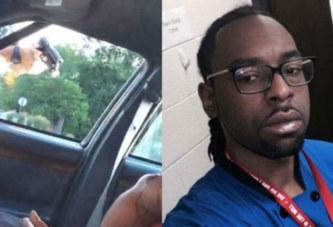 Abattu de 4 balles par un policier devant sa femme et sa fille (vidéo)