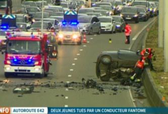(Vidéo) Il roule à contresens sur l'autoroute et tue deux jeunes
