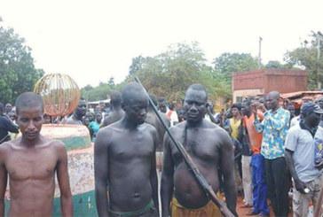 Tapoa : Deux réseaux de présumés braqueurs démantelés par des koglwéogo