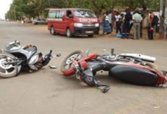 Burkina Faso: forte recrudescence d'accidents de la route en deux roues