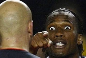 VIDEO: Premier carton rouge pour Didier Drogba