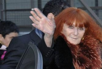 France: la styliste Sonia Rykiel tire sa révérence