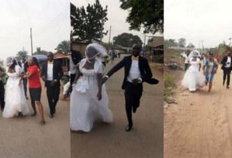 Nigeria: La mariée dit non et s'enfuit de l'église après avoir découvert que son fiancé n'est pas un riche pétrolier