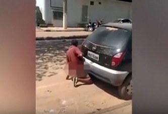 Brésil : Il fait l'amour au pot d'échappement d'une voiture