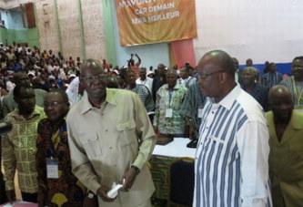 Le choc : Roch Kabore joue le caïd face au stratège Salifou Diallo déterminé a confisquer la gestion du pouvoir, Simon s'accroche…