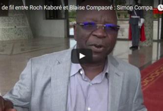 Simon Compaoré: Des gens ont voulu voir Blaise Compaoré et il a refusé