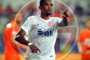 Football: Samuel Eto'o suspendu jusqu'à nouvel ordre par son club