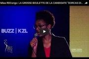 """près le Togo, Miss Congo dérape et affirme que """"le blanc est plus intelligent que le Noir"""""""