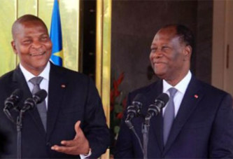 Côte d'Ivoire – Centrafrique : Touadéra à Abidjan pour solliciter l'aide de Ouattara