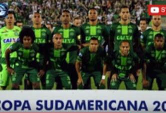 Crash d'un avion transportant une équipe de football brésilienne :75 morts et 6 survivants