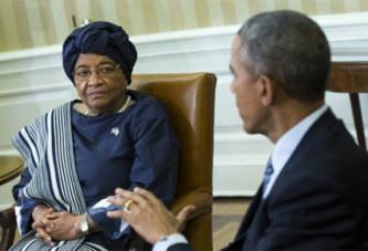 Libéria : Ellen Sirleaf se dit attristée par la défaite de la démocrate Hillary