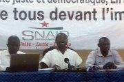 Syndicat : « on n'a pas besoin d'aller en enfer pour trouver de l'argent afin de financer le PNDES, il y'a l'argent au Burkina Faso » selon le SNAID