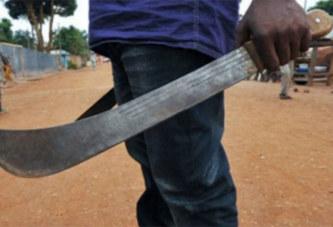 Devant le tribunal : course poursuite avec une machette