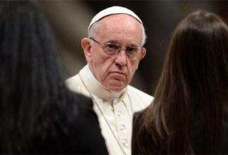 Religion: Les femmes ne seront jamais des prêtres catholiques  selon le pape François