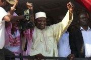 Gambie : Poutine félicite Barrow