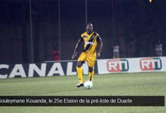 Souleymane Kouanda, le 25e Etalon de la pré-liste de Duarte