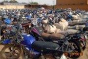 Fada-N'Gourma : plus de trois cents motos et véhicules saisis lors d'un contrôle inopiné