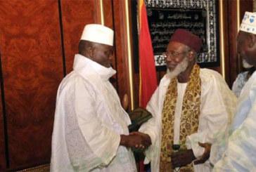 Communiqué du Président Jammeh après sa rencontre avec les chefs religieux
