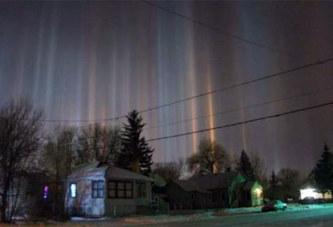 Un spectacle bluffant dans le ciel du Canada