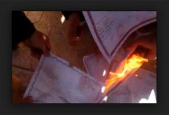 Tchad/ Chômage: des étudiants brûlent leurs diplômes