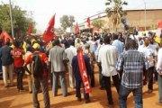 Déclaration du Collectif syndical CGT-B (CGT-B – SATB – SYNACIT – SYNAMICA – SYNASEB – SYNATEL – SYNATEB SYNATIC – SYNPTIC- SYNTAS) sur l'arrivée du président français Emmanuel Macron au Burkina Faso