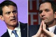 France - Primaire à gauche:  Manuel Valls largement battu parBenoît Hamon