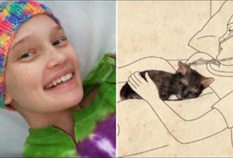 Etats-Unis: Son chaton est resté blotti contre elle jusqu'à sa mort  Facebook