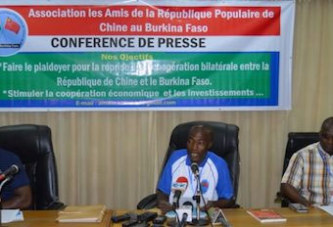 Vie associative : les Amis de la République de Chine Populaire au Burkina souhaitent la reprise de la coopération bilatérale entre les deux pays