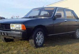 Une ancienne voiture de Jacques Chirac à vendre sur internet
