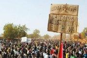 NON-BITUMAGE DE L'AXE KANTCHARI-DIAPAGA-FRONTIERE DU BENIN : La Tapoa exprime sa colère dans la rue