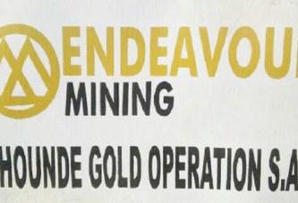 Burkina Faso:  Opération de recrutement dans une mine d'or