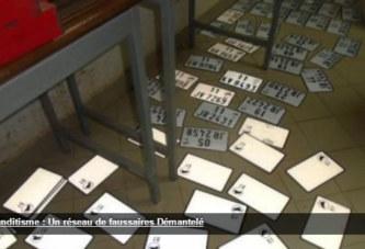 Banditisme : un présumé réseau de confection de fausses cartes grises et immatriculations démantelé