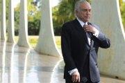 """Brésil: Des """"fantômes"""" chassent le président Michel Temer du palais présidentiel"""