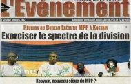 REUNION DU BEN/MPP A KOSYAM: L'onde de choc d'un événement
