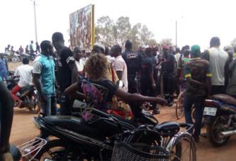 Patte d'Oie (Ouagadougou) : Altercations entre policiers et usagers de la route, un blessé