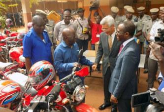 Lutte contre la criminalité transfrontalière: du matériel remis à la Police nationale burkinabè