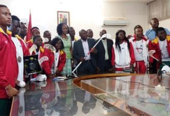 Special Olympics: Les vice-champions chez le ministre des sports et des loisirs