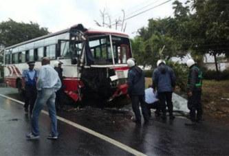 Sénégal: Le chauffeur du bus s'endort: 12 morts et 50 blessés  Facebook