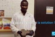 Un jeune Malien met au point un béton écolo