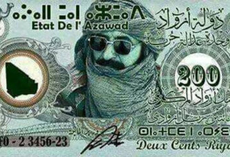 GROUPES TOUAREGS AU SAHEL : l'Etat de l'Azawad officiel avec une monnaie et un passeport
