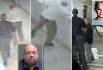 Vidéo: Jugé pour avoir violé et tué une fillette, il se tue en jettant dans le vide juste avant son procès