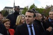 Qui est Makao, ce colosse de 2,13 m garde de corps de Macron ?