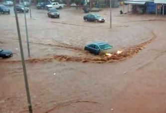 Pluie de jeudi soir à Ouagadougou : Inondations dans certains quartiers