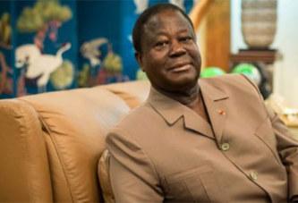 Henri Konan Bédié : « comme moi, Blaise Compaoré a subi un coup d'État »
