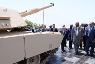 Roch Kaboré à la découverte de chars égyptiens