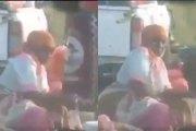 Une femme prise en train de frotter les fruits qu'elle vend entre ses jambes (vidéo)