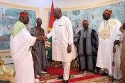 Des Rois du Burkina chez le Président du Faso